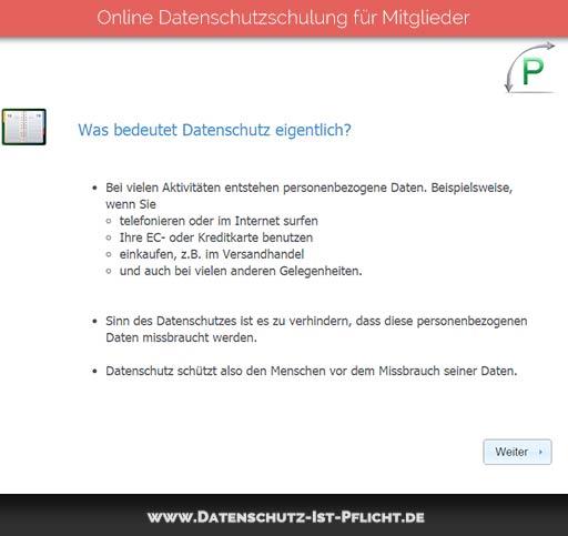 Datenschutzschulung | Vorschau | 02