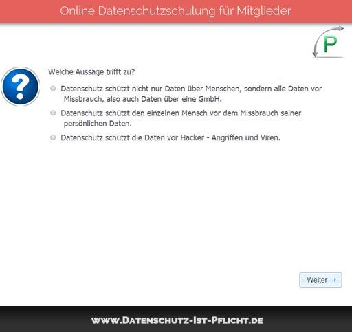 Datenschutzschulung | Vorschau | 03