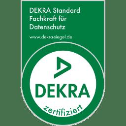 DEKRA Zertifikat | Fachkraft für den Datenschutz 2016