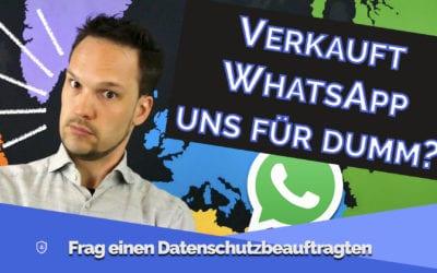 Was Du über die WhatsApp Datenschutzänderungen wirklich wissen solltest!