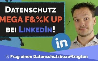 LinkedIn verschlampt 700 Mil. Nutzerdaten! Deine auch?