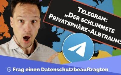 Telegram: Der Datenschutz-Albtraum schlechthin!